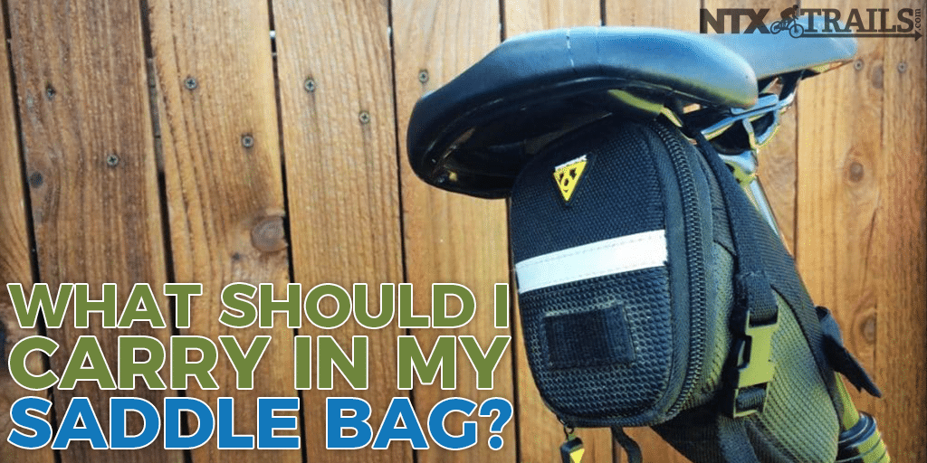 What Should I Carry in My Saddle Bag?