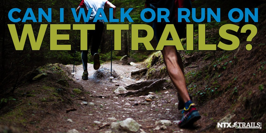 Can I Walk or Run on Wet Trails?